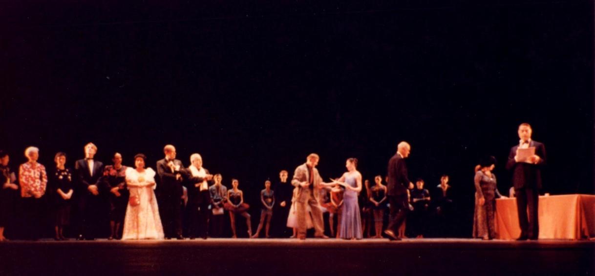 1988年:パリ国際ダンスコンクール